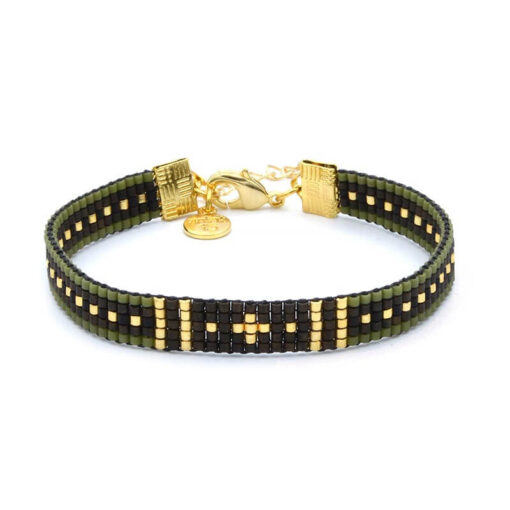 Beaded-Bracelet---Survivor---Goud