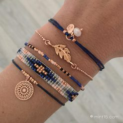 Armbandenset 'Dark Blue'