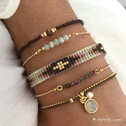 Armbandenset-'Enchanted-Forest'—Goud