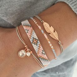 Bracelet set 'Soft Pastels'