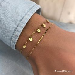 Goldplated Stainless Steel Armbanden (1)