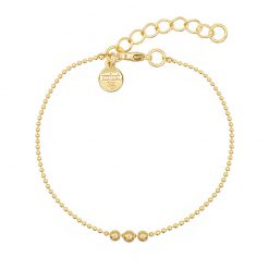Mint15 - 3 Wishes Bracelet - Goud