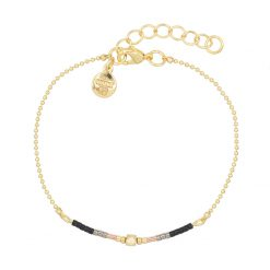 Mint15 – Delicate Chain & Beads – Black – G