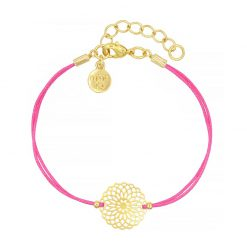 Boho Ornament - Hot Pink - Goud