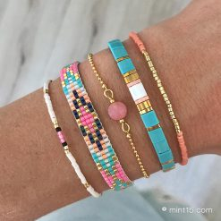 Beaded Bracelet – Festival Colors