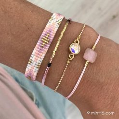Beaded Bracelet - Happy Pastels