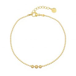 Mint15 - 3 Wishes Bracelet - Goudkleur