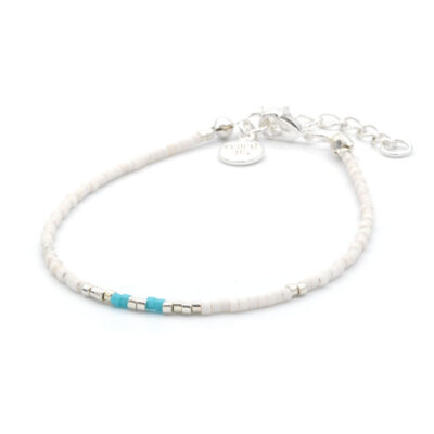Mint15 Delicate Bracelet - Touch of Turquoise - Zilver