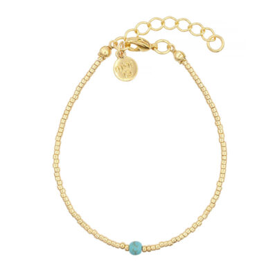 Mint15 Simply Delicate - Turquoise - Goud