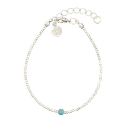 Mint15 Simply Delicate - Turquoise - Zilver