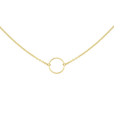 Mint15 Collier 'Infinity Ring' - Or